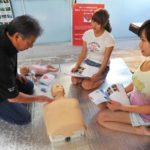 石垣島で救急法(EFR)インストラクター育成