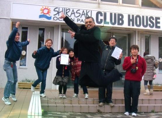 ニュー★ダイビング・インストラクター、アドバンスダイバー誕生!