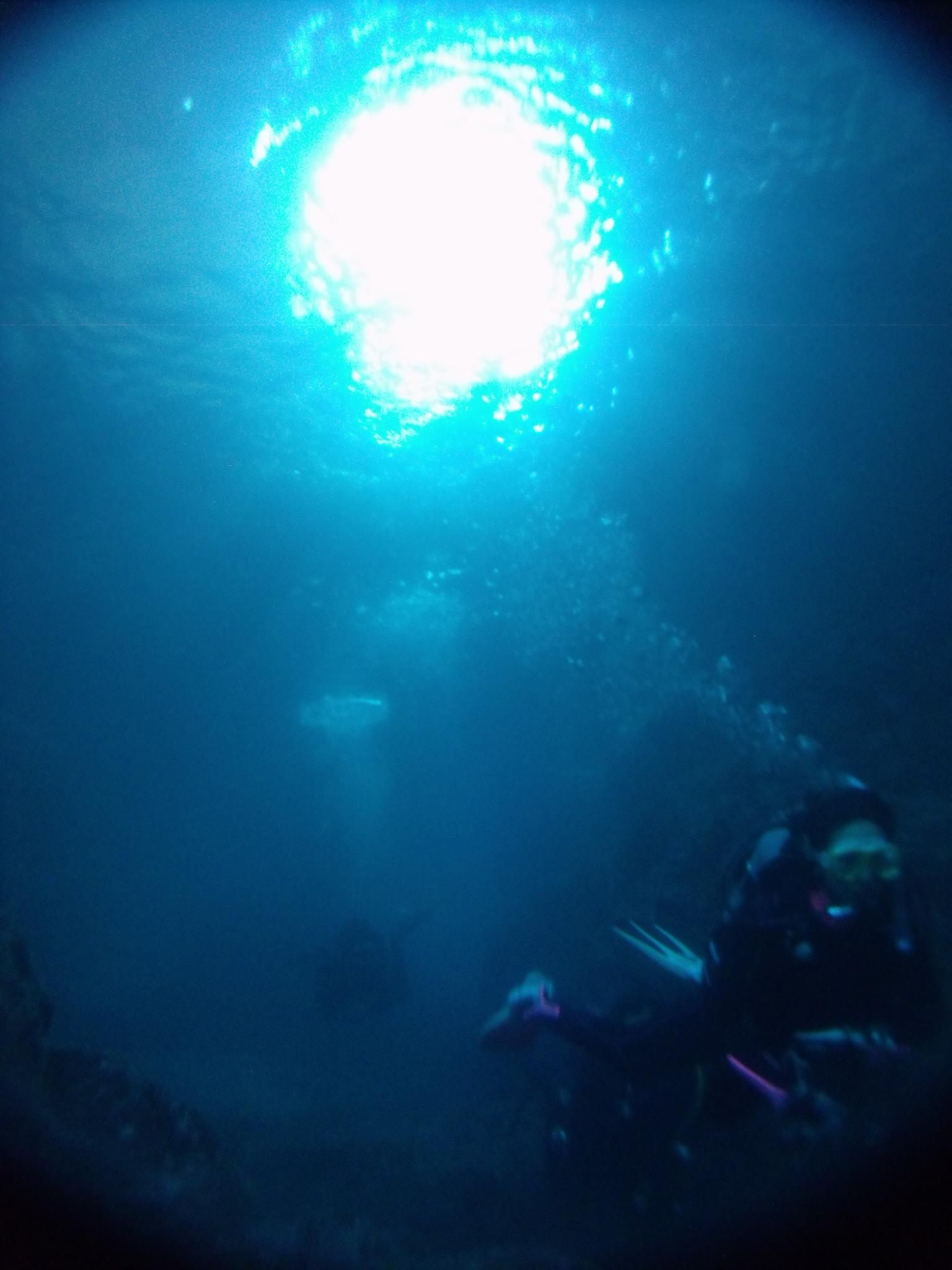 山陰ジオパークの醍醐味「洞窟ダイビング」の巻(^O^☆♪
