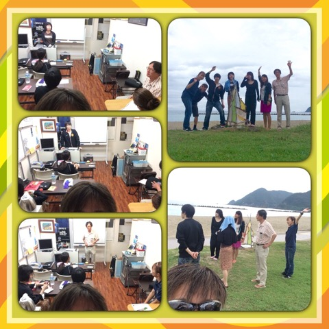 パラオからのダイビングインストラクター指導者コース、海洋の最終日です