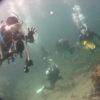 水中スクーターで海底を爆走~!トリッドパルスでバブルリング砲!地元の他、岡山からもライセンスコース!