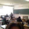 兵庫県立家島高等学校で春休み前に、学科試験!