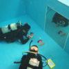 店内プールでデジカメを使った水中撮影講座(オリンパスTGシリーズ)