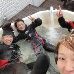 水中写真と集中トレーニング