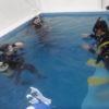 室内プールで楽々ダイビングライセンス取得コース