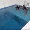 お仕事帰りにココモプールで体験ダイビングで上達までしてしまう!