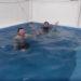 ひたすら立ち泳ぎ!90分立ち泳ぎ!