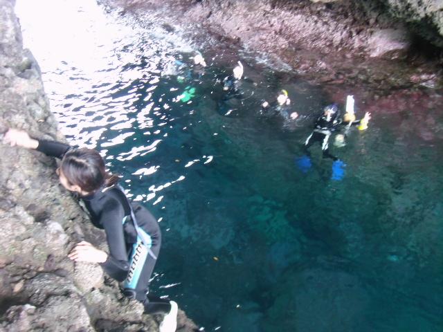 ジオパーク(裏★青の洞窟でサプライズ~ハッピーバースデー~)