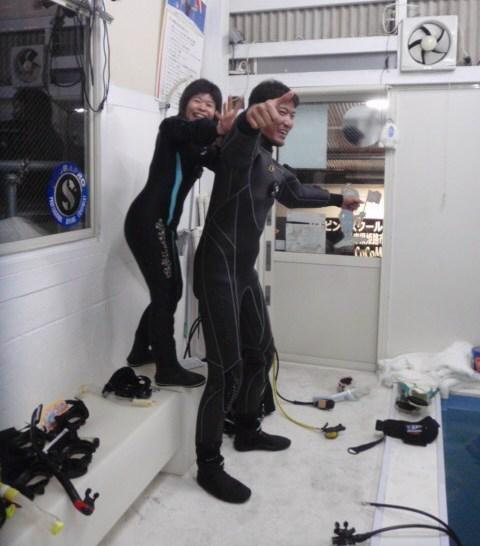 ダイビング指導者養成講座!ココモプールでしっかりトレーニング!