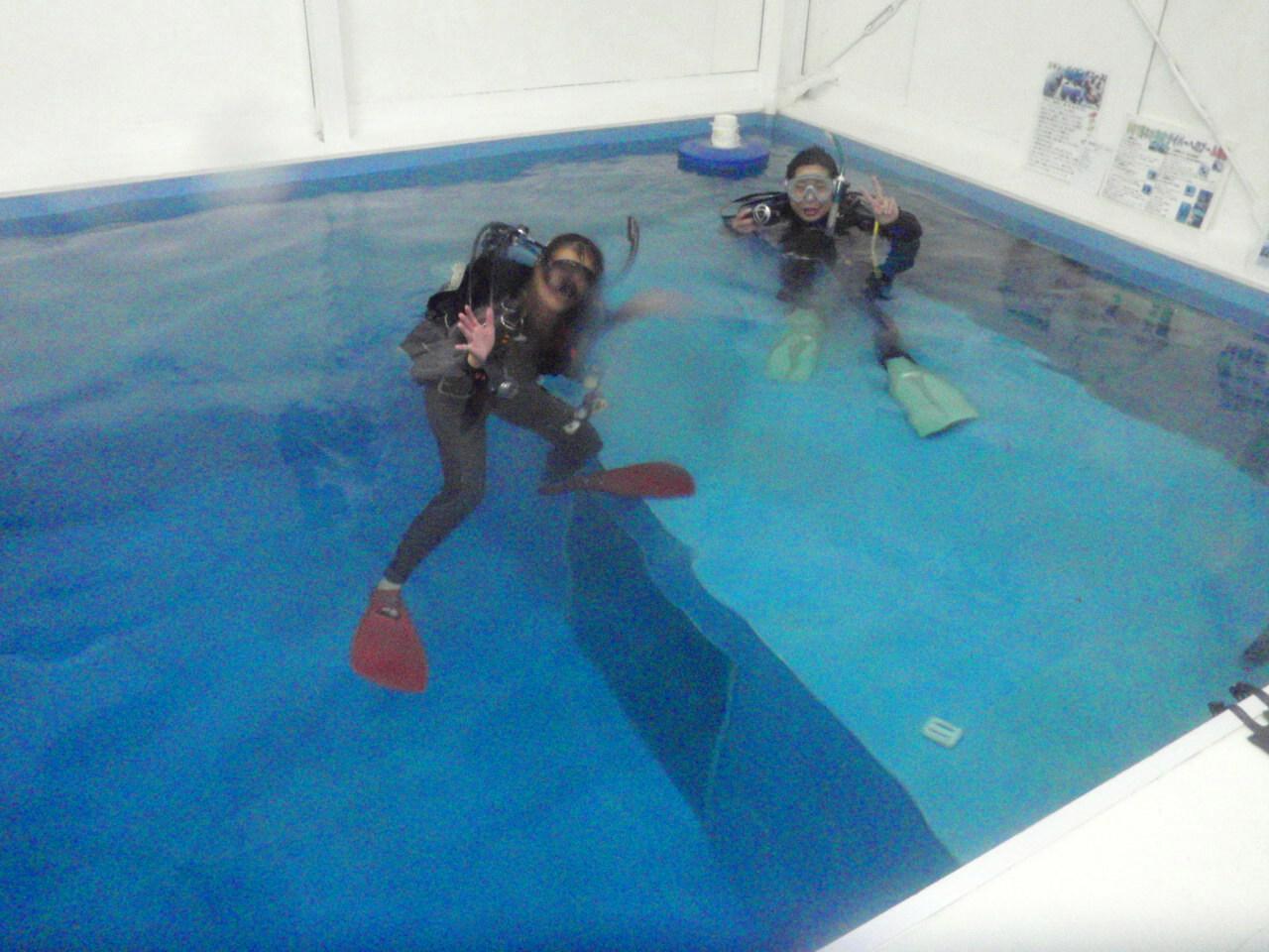 集中開催★ダイビングライセンスコース(プール)