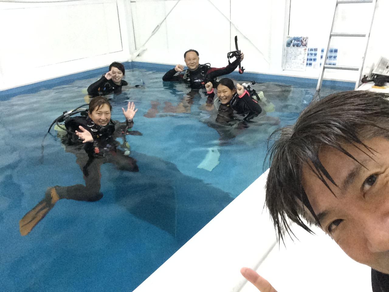 パラオからのダイビングインストラクター候補生IDC(5/7)日々様々な方がご協力や応援にご参加頂いています!