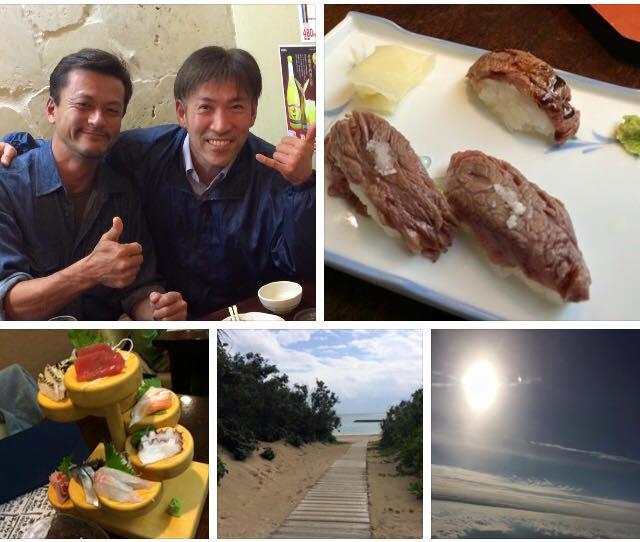 嬉しい!ココモでプロ資格を取得され石垣島へ移住されたGと再会!