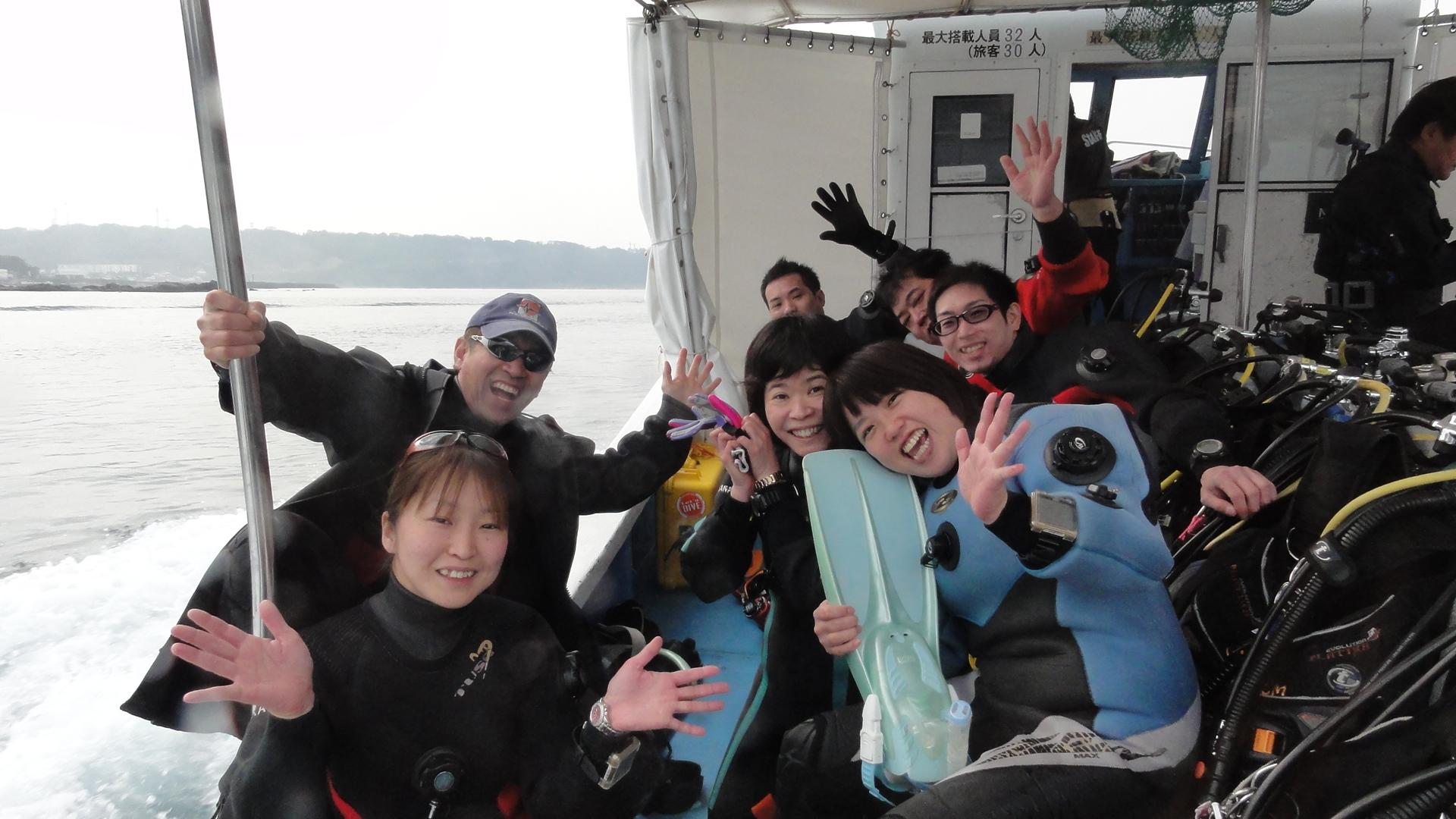 本州最南端は串本でダイビング、マグトル君、トルコランプ