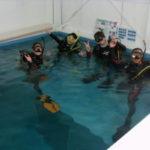 店内プールで、楽々&しっかり、ダイビングライセンスコース&ダイブマスターコース!