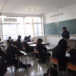 家島高等学校でダイビングレッスン(部活編)