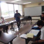 兵庫県立家島高等学校でダイビングレッスン(マリンスポーツ部)