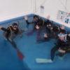 大学ダイビング部一年生、ダイビングライセンスコース!