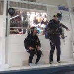 ダイビングライセンスコース(学科/CCM教室、プール練習/CCMプール)