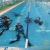 3年生、部活引退後のマリンスポーツ部二学期ダイビングレッスンがスタート!
