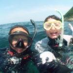 ダイビングライセンスコース、ナショナルジオグラフィックコース!夏の海が楽しめました!