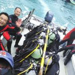 四国の南西端で海宙遊泳(ウチュウユウエイ)