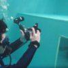 ココモプールで!水中写真が10倍楽しくなるドームレンズ!