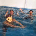 ココモプールで立ち泳ぎ練習会!