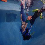 夜のココモプールで、8歳の小学生がお母さんとスキンダイビングにチャレンジ!