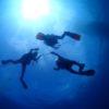 秋の青い海で海宙遊泳(ウチュウユウエイ)!ディープ、マルチ、DMなど