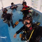 ココモプールでPADIダイビング養成講座を開催!