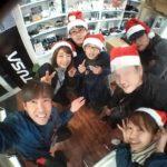 海底クリスマスツリー!沈船に設定されているので、みんなでサンタコスプレで見に行ってきました!
