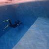 ココモ温水プール(31℃)で、スキンダイビング、試したり!試したり!